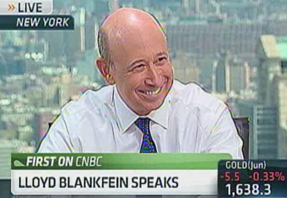 Blankfein Sounds Off, Dow 15,000?, Taibbi on Senate&#8217;s MF Global Inquiry, and more Quotes of the Week
