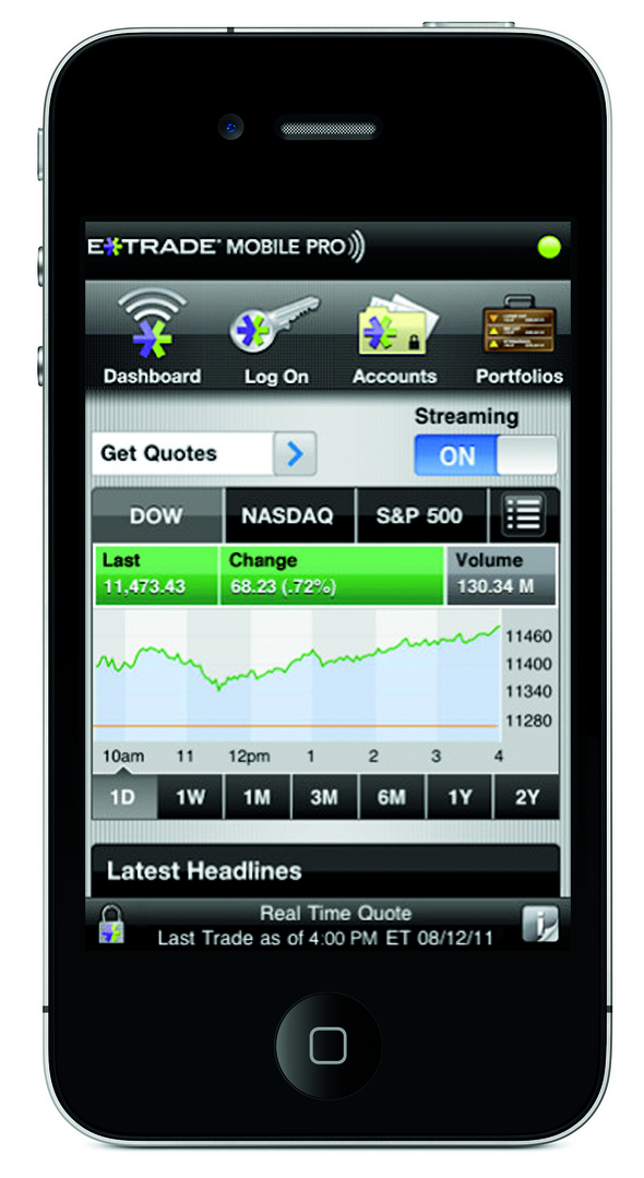 The Top 10 Mobile Apps on Wall Street