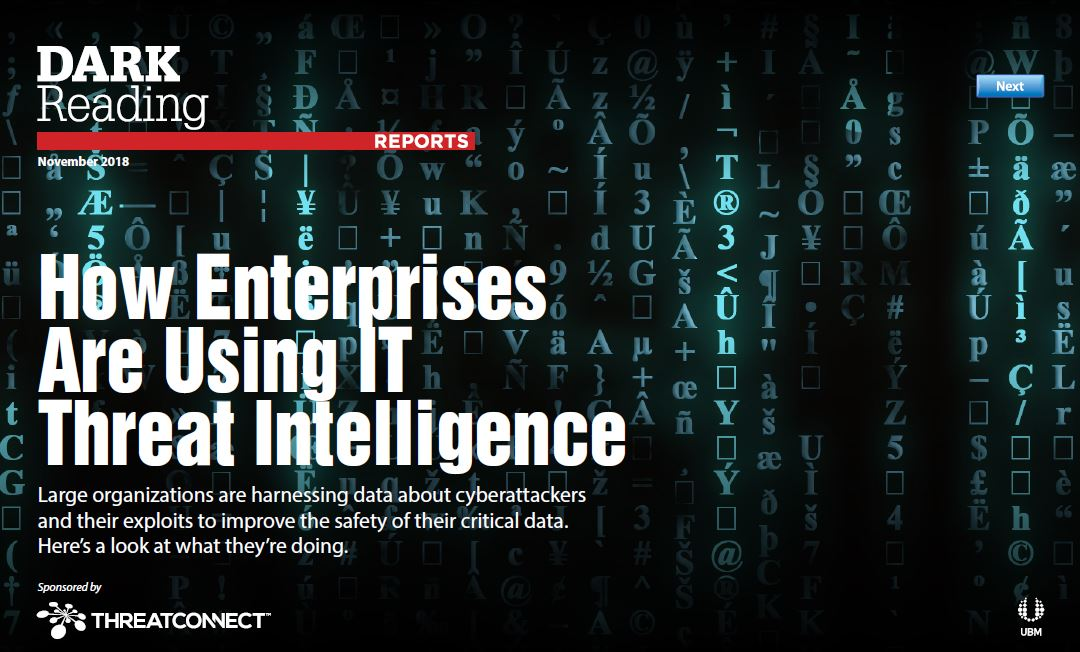 How Enterprises Are Using IT Threat Intelligence