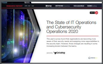 The State of IT & Cybersecurity Operations 2020