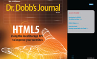 The Dr. Dobb's Journal cover
