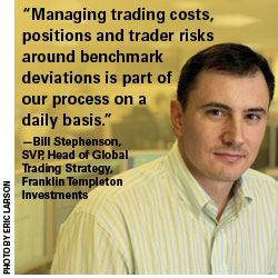 Bill Stephenson, SVP, Head of Global Trading Strategy, Franklin Templeton Investments