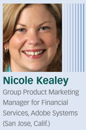 Nicole Kealey, Adobe Systems