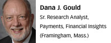 Dana Gould, Financial Insights
