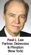 Paul Lee, Debevoise & Plimpton