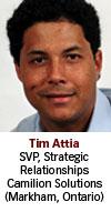 Tim Attia, Camilion, Solutions