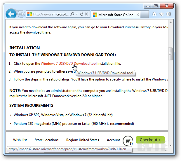 How To Make A MS Windows 7 Bootable Flash Drive | IT