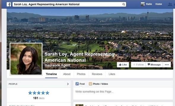 Sample American National page