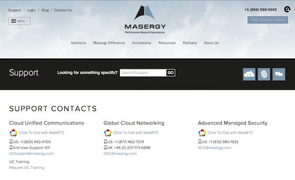 Masergy Adds WebRTC to UCaaS Array | Insight for the Connected