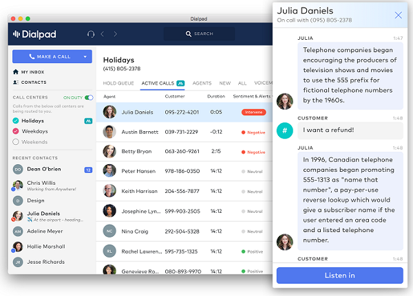 Dialpad Introduces VoiceAI with TalkIQ Acquisition | Insight for the